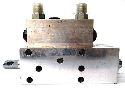 Brannon Hydraulics Directional Control Valve 700019 4 Way 3 Pos 7c Spool