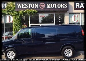2012 Chevrolet Express 2500 2500*RARE AWD*SLIDING DOORS*INCREDIB