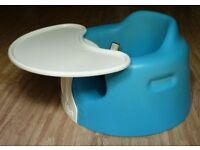 Bumbo Combo Seat with tray Baby to Toddler High Chair