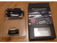 FM Transmitter with in car charger