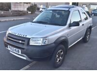 Landrover freelander TD4 diesel, good runner, 3 door, Long MOT, Requires clutch but still drives