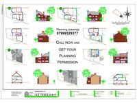 Online, DRAWINGS FOR PLANNING, Architectural Services, Planning permissions, Rear extension, Loft co