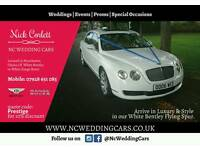 Wedding Hire Bentley Flying Spur and Chauffeur Reasonable Prices **** BOOK NOW! ****