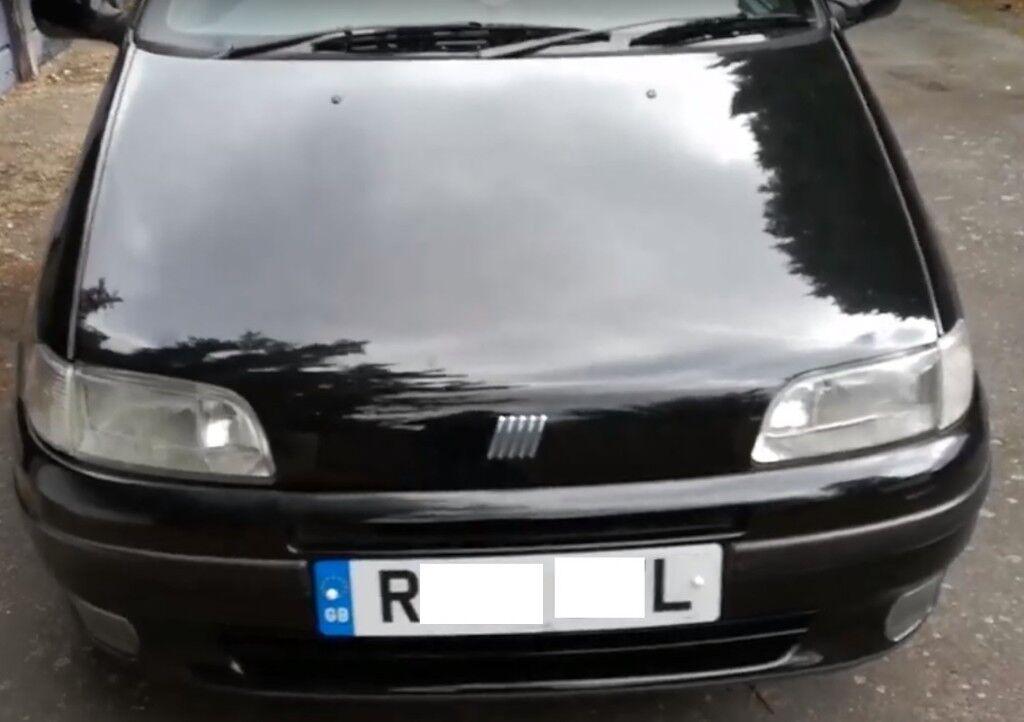 Wybitny FIAT PUNTO CLASSIC CAR 1998 'R' REG MOT OCT 19 TIDY CAR GA23