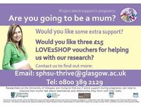 Mums-to-be required! Opportunity for extra parenting classes and the chance to support our research!
