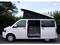 2014 VW Transporter T5 Camper van, VW Warranty, Pop Top Roof, Only 8k Miles