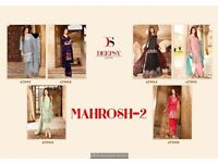 Mahrosh 2 by deepsy lawn cotton dress in wholesale price