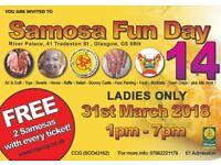 Charity women and children Samosa Funday 14