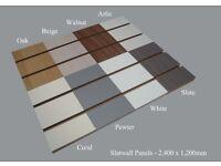 Slatwall Display Panels