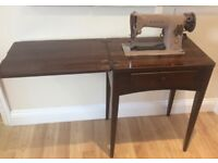 Singer 201K Semi Industrial Sewing Machine In Table - Pre-Owned - Serviced With Warranty