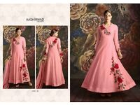 NIKKI SPECIAL COLOURS BY AASHIRWAD ANARKALI SUITS WHOLESALE