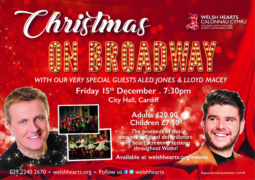 CHRISTMAS ON BROADWAY WITH SPECIAL GUESTS INCLUDING ALED
