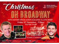 CHRISTMAS ON BROADWAY WITH SPECIAL GUESTS INCLUDING ALED JONES & LLOYD MACEY