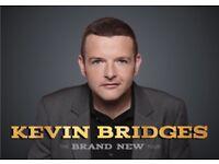 Saturday 20th Oct, Floor seats X 2 Block 001 Row M Glasgow Hydro . Kevin Bridges .