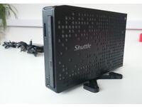 Shuttle XS35 Ultra slim PC *Dual core Intel Atom, 2gb ram, 120gb Hard drive, Wifi, HDMI