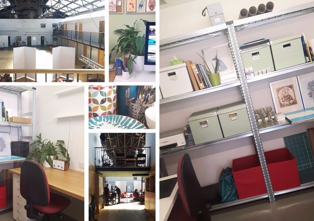 Two Desk Spaces Available At Studio G48 Out Of The Blue Drill Hall