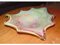 (#15) Large Murano glass bowl excellent condition £35 ONO