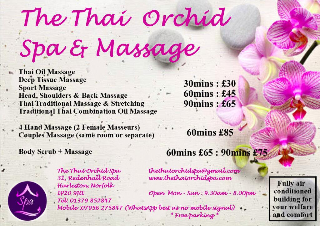 *Thai Massage - Open Day* | in Harleston, Norfolk | Gumtree