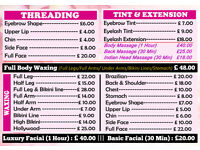 A well stablished busy Beauty business with in a nail saloon for sale