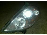 Vauxhall vectra passenger side headlight
