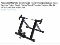 Bike exercise stand