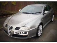 Alfa Romeo GT 1.9 JTDM 150BHP. FSH. MOT'd Oct '17. Low Mileage. Two Keys.