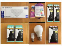 Selection of 20 LED lamps - Mix of New and Used