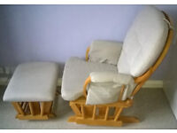 Glider Chair & Stool