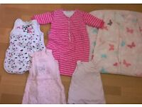 baby gro bags (5) from birth right upto toddler
