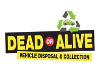 DEAD OR ALIVE VEHICLE DISPOSAL SCRAP MY CAR SELL MY CAR
