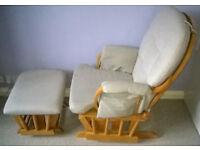 Glider Chair & Stool