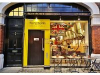 Full Time Kitchen Assistant and front of house at Tomtom in Belgravia, London