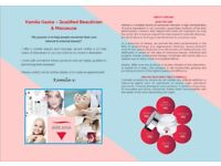 Kamila Gaska – Qualified Beautician & Masseuse