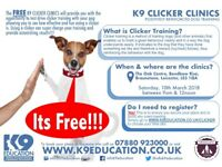 FREE DOG TRAINING!!!! - K9 Clicker Training Clinics - Super Charge Your Dog Training - Book Now!!!