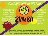 ZUMBA FITNESS CLASSES - YEADING / HAYES, COME AND JOIN IN THE FUN!