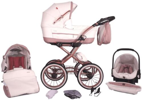 Tutek Turran Eco Leather Rose Gold LTD Kinderwagen