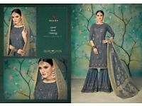 KAARA SUITS PRESENT OUR NEW CATALOG RUBY BRIDAL COLLECTION AT WHOLESALE RATE IN HIRAL TEXTILE
