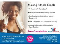 Simply Fitness UK Fitness Classes