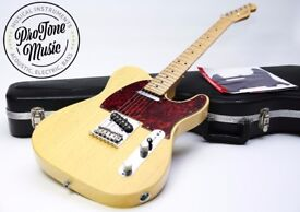 Fender USA FSR Rustic Ash Limited Edition Telecaster Butterscotch Blonde