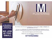 PLASTERER 20 YEARS EXPERIENCE