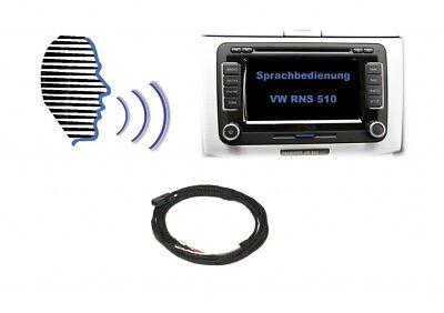 Original Kufatec Cable Retrofit Kit Sds Voice Control for Vw Rns 510