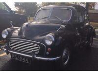 LOVELY 1950'S SPLIT SCREEN MORRIS MINOR TAX & MOT EXEMPT 4 DOOR
