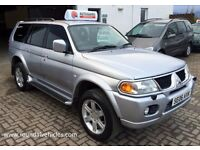 Mitsubishi Shogun Sport 3.2 V6 Warrior auto 4x4 , 12 mths mot, black leather, alloys, LOVELY 4x4 !!