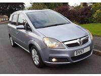 2007 (57) Zafira Design [AC] 7 seater 12 Months MOT Full Service History LOW MILEAGE 4 NEW TYRES