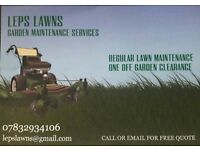 Leps Lawns Garden Maintenance