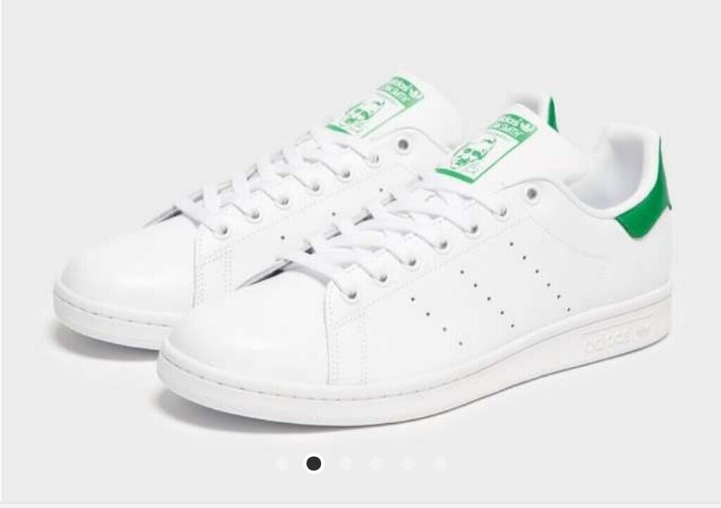 Adidas Stan Smith white & green trainers size 10 UK for sale (*nearly new*) | in Earlsfield, London | Gumtree  großer Rabatt