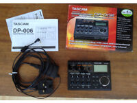 Tascam DP-006 with Power Supply