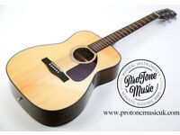 Fender CF-140S Folk Acoustic Guitar Natural Gloss & Padded Gig Bag