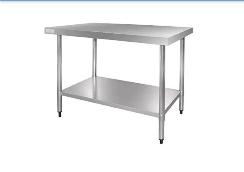Stainless Steel Table Ft Months Old Rrp In Tamworth - 5 ft stainless steel table