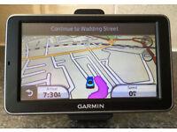 5 inch Garmin Nuvi 2460 Automotive GPS Receiver Sat Nav with UK and Europe Maps Navigator